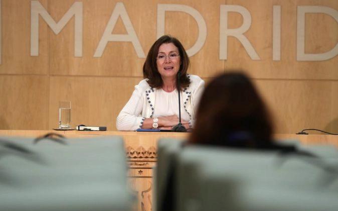 La directora general de Sostenibilidad y Control Ambiental, Paz...