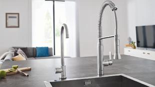 Grohe Blue Home grifo filtra el agua