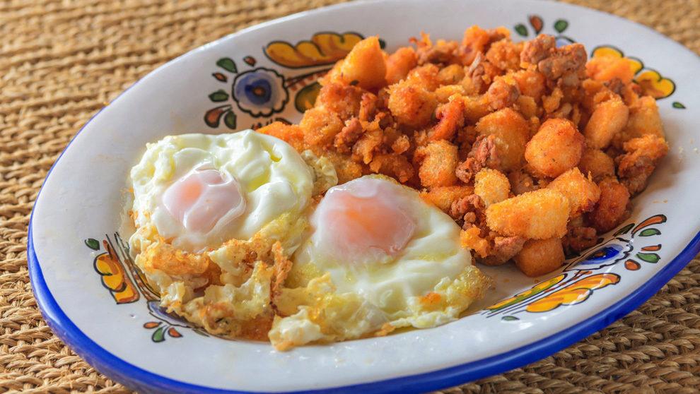 Migas con huevo, Mesón de Fuencarral