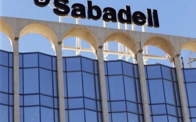 Sede social de Banco Sabadell en Alicante.