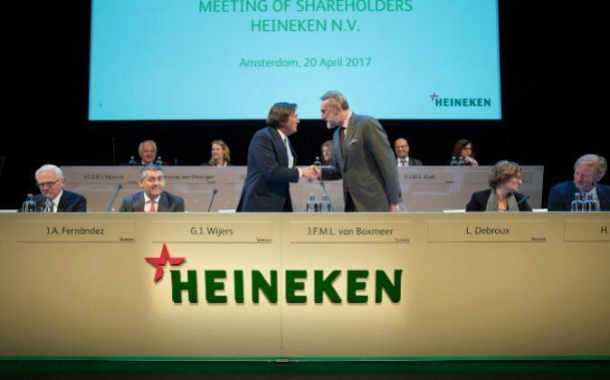 Junta de accionistas de Heineken.