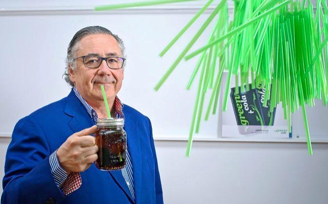 Íñigo Madariaga es el presidente de Green Cola Iberia, la empresa...