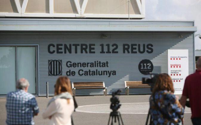 Vista de la sede central del servicio de emergencias 112 de la...