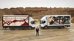 Palibex camiones pintados arte Jaime Colsa