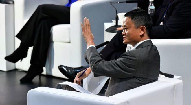 Jack Ma, presidente y fundador de Alibaba
