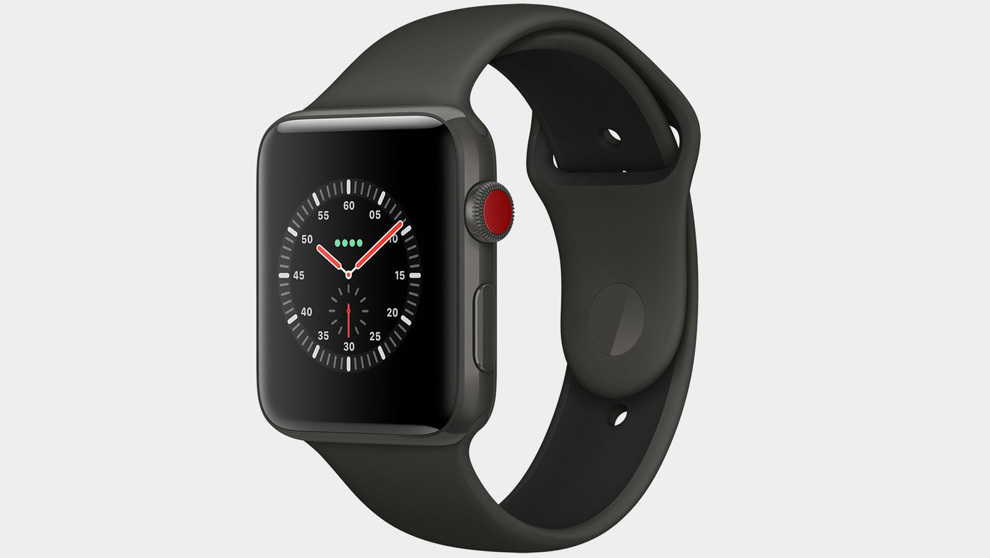 El nuevo Apple Watch Series 3 LTE, que ha llegado aún a España,...