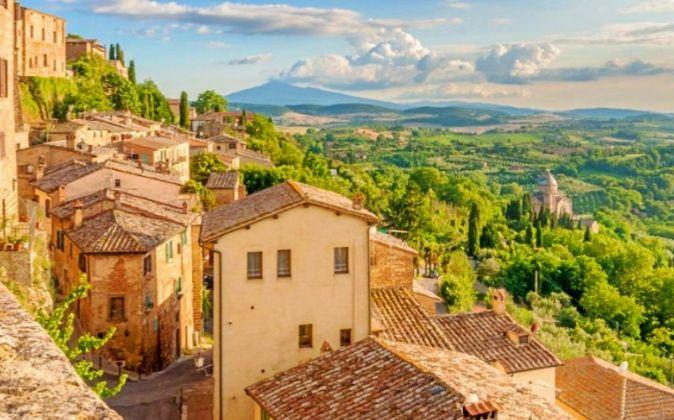 La imprescindible Toscana. Con casi 400 kilómetros de costa además...
