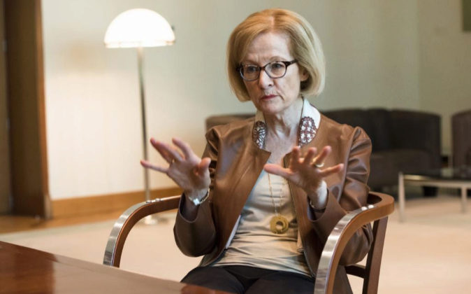 Daniele Nouy, presidenta de Consejo De Supervisión del BCE