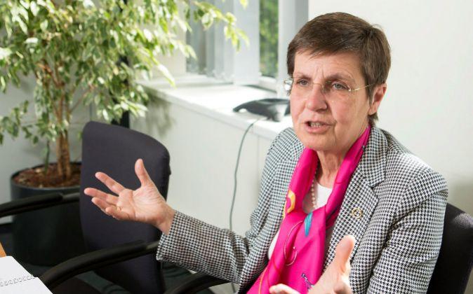 Elke König, presidenta de la JUR