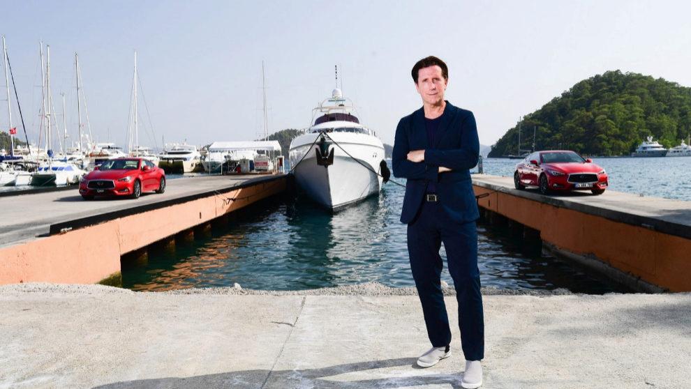 El diseñador del grupo Nissan e Infiniti, Alfonso Albaisa.