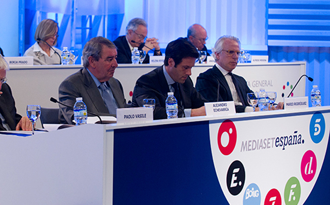 Junta de accionistas de Mediaset España