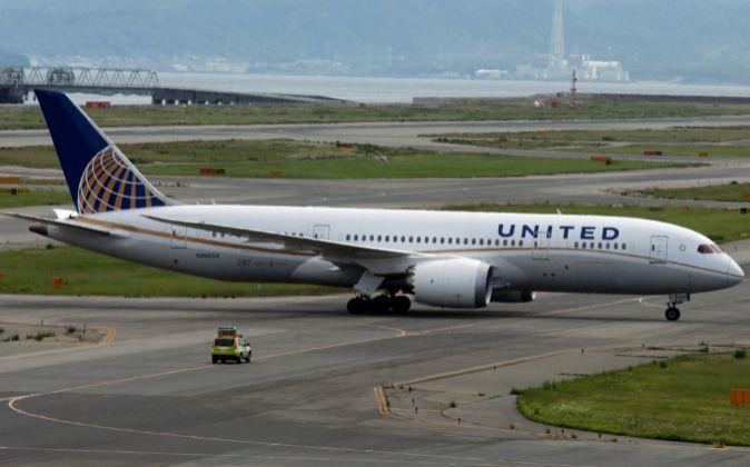 Avión de United Continental.