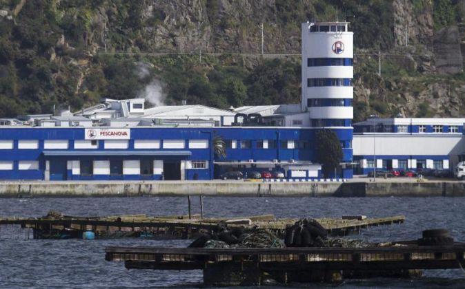 Instalaciones de Pescanova en Redondelas