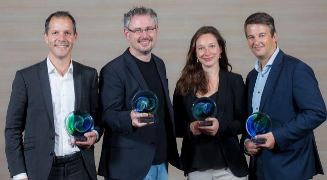 Los ganadores de los premios InnovEIT 2017.