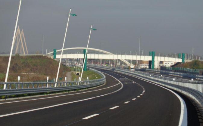 Autopista A31 en Italia, gestionada por Abertis.