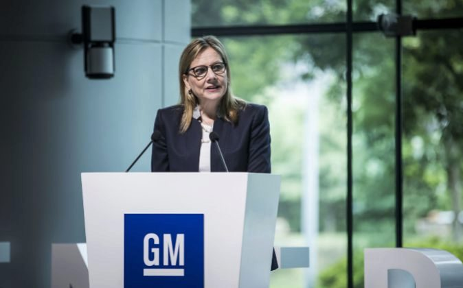 Mary Barra, CEO de General Motors