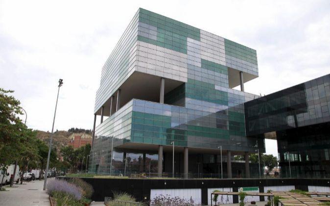Sede de Agbar en la zona franca de Barcelona.