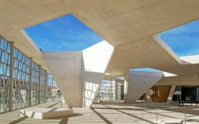 El nuevo y grandioso colegio alemán de Madrid fue inaugurado en...