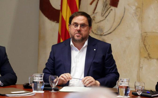 El vicepresident y conseller de Economía de la Generalitat, Oriol...