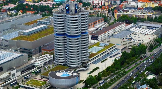 La sede central de BMW en Munich