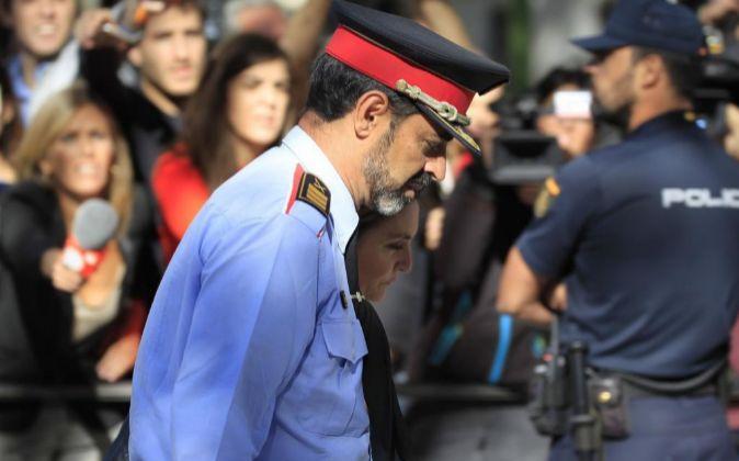 El jefe de los Mossos d'Esquadra, Josep Lluis Trapero.