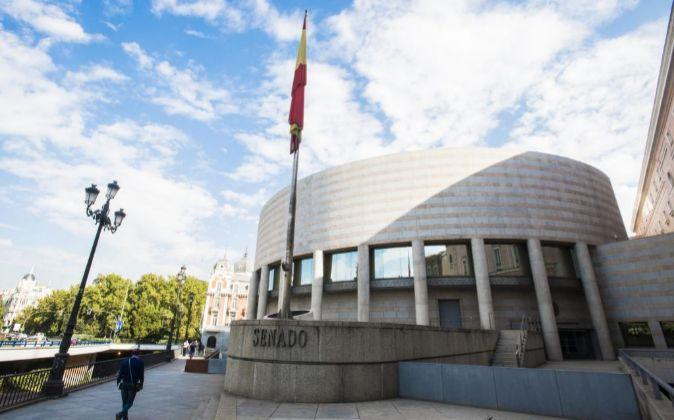 Sede del Senado en Madrid.