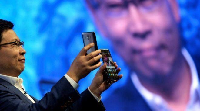 El consejero delegado de la tecnológica china Huawei Richard Yu.