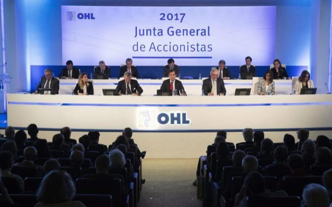 Junta General de Accionistas de OHL 2017.