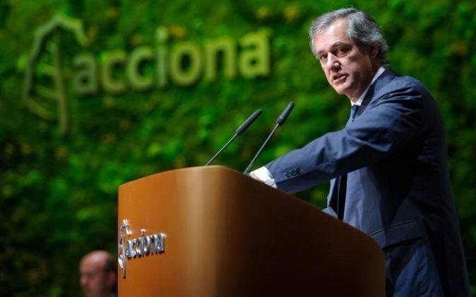 El presidente de Acciona José Manuel Entrecanales.