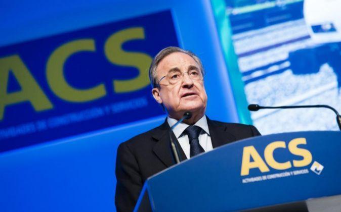Junta General de Accionistas de ACS 2017, Florentino Pérez