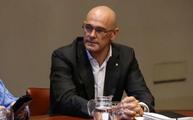 El conseller de Asuntos Exteriores de la Generalitat, Raül Romeva.