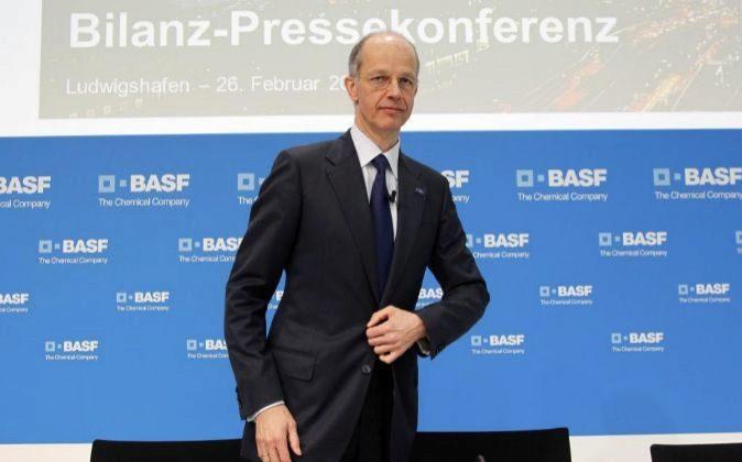 Kurt Bock, CEO de BASF.