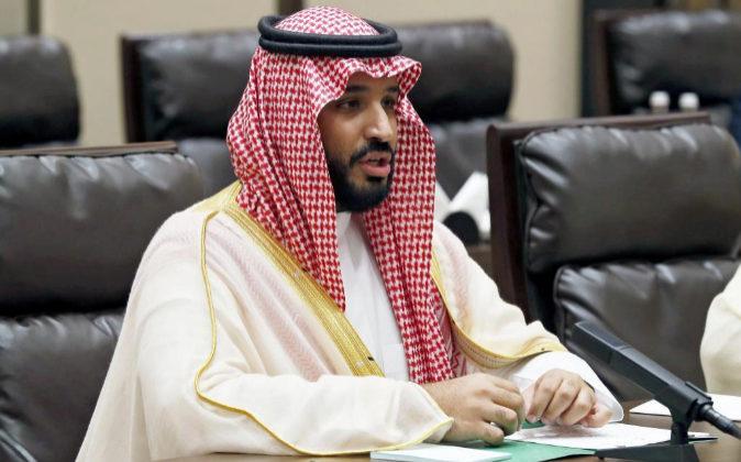 El príncipe Mohamed Ibn Salman.