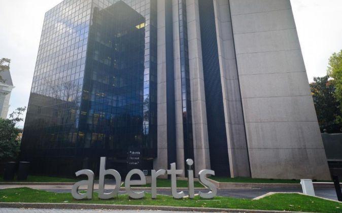 Sede Abertis en el Paseo de la Castellana, 39, en Madrid