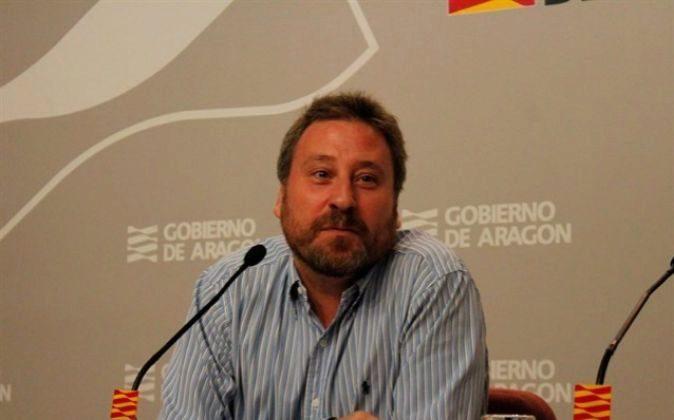 José Luis Soro, consejero de Vertebración del Territorio, Movilidad...