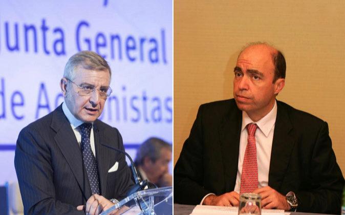 Tomás García Madrid (izda.) y Juan Osuna.