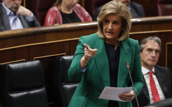 La ministra de Empleo, Fátima Bañez.