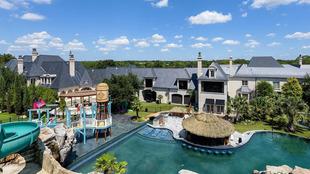 Mansión de lujo parque acuático Dallas