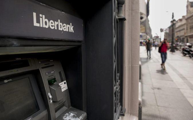 Cajero de Liberbank.