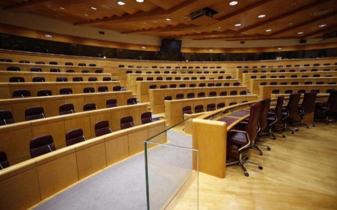 Vista de la Sala Europa del Senado.