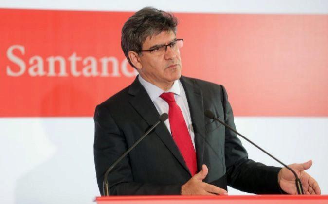 El consejero delegado del Banco Santander José Antonio Álvarez.