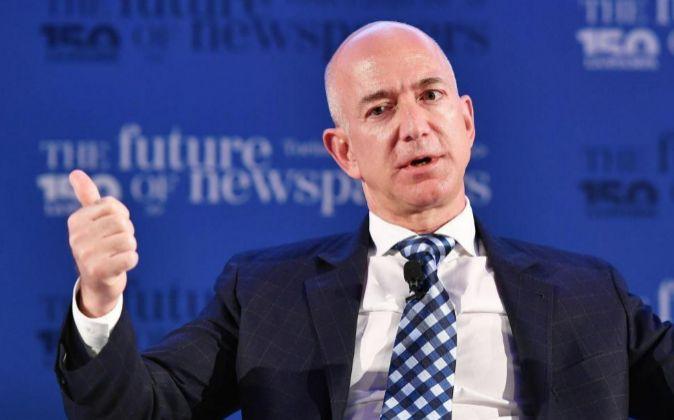 El fundador de Amazon Jeff Bezos.