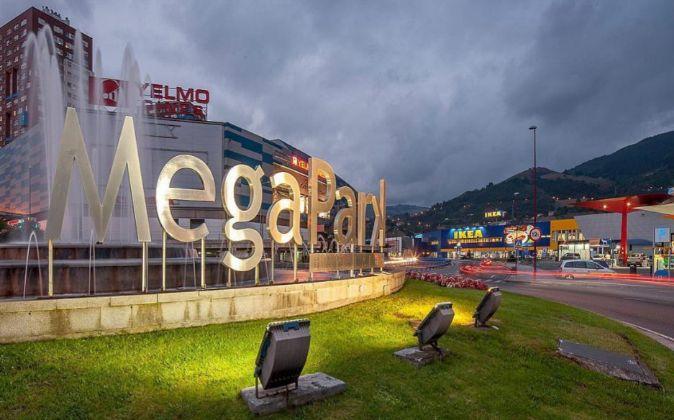 Centro Comercial Megapark, en Barakaldo.