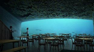 primer restaurante submarino en europa