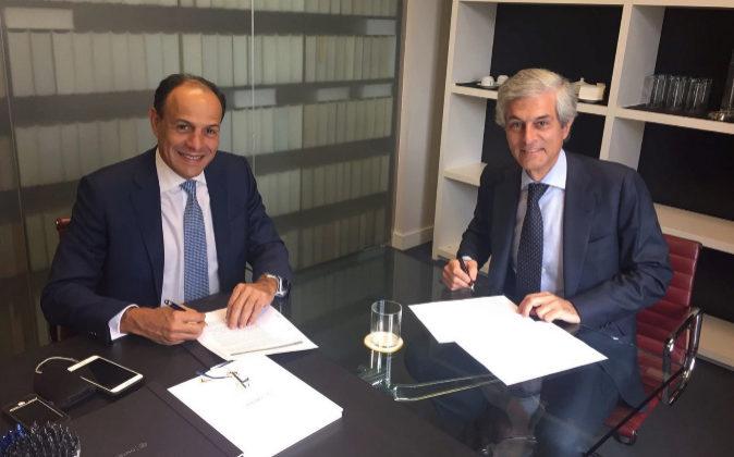 De izqda. a dcha., José Manuel Alburquerque, nuevo socio de Ontier en...