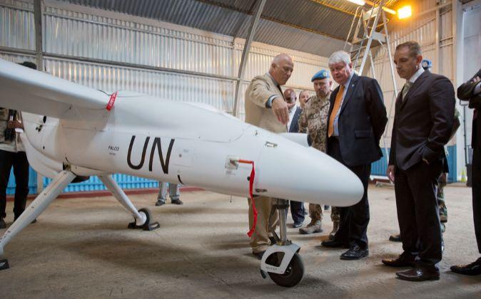 Naciones Unidas ya utiliza aviones no tripulados para distintas...
