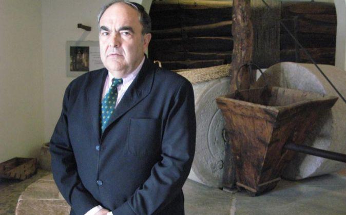 Antonio Luque, presidente de Dcoop, en la sede de la empresa en...
