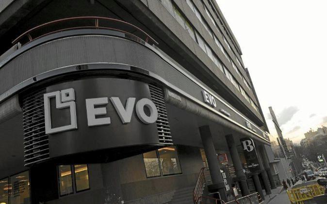 Oficina de Evo Banco en Madrid.