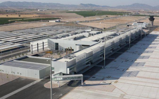 Aeropuerto Internacional Región de Murcia en Corvera.