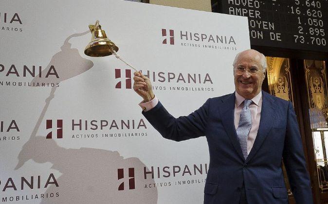 Rafael Miranda, presidente del consejo de administración de Hispania,...